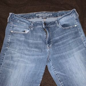 American Eagle Skinny Jeans Size 18 Long